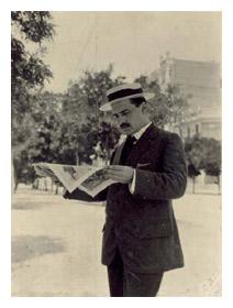 José Ortega y Gasset en la Residencia de Estudiantes, 1925. Fundación José Ortega y Gasset-Gregorio Marañón.