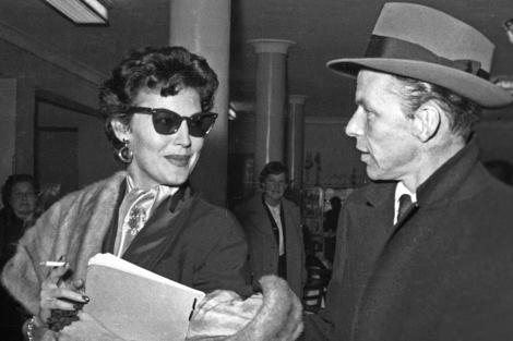 Ava Gardner y Frank Sinatra en Madrid