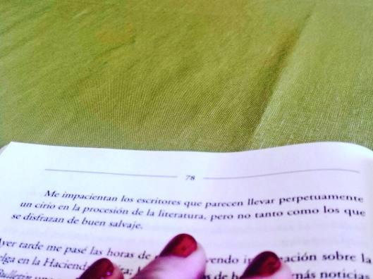 Biedma y la sobreactuación literaria